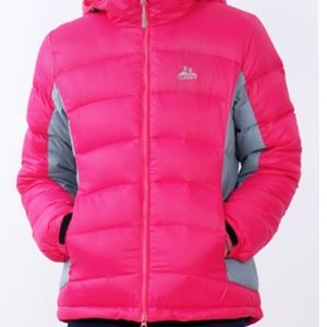 Oursky puffy pink jacket size large